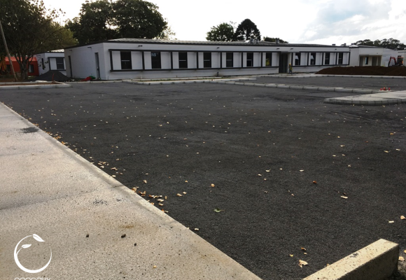 Parque de Estacionamento – Geocélulas